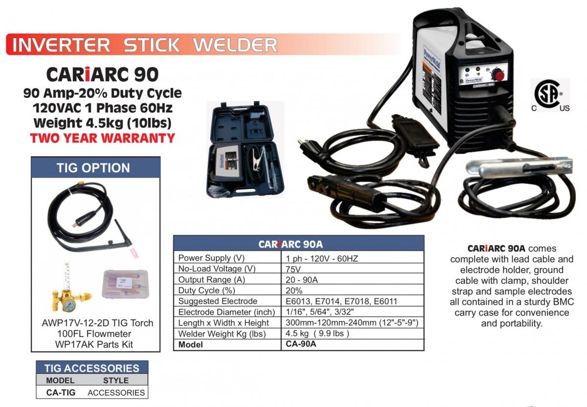 PowerWeld Inc  :: Welding Machines :: Inverter Stick Welders